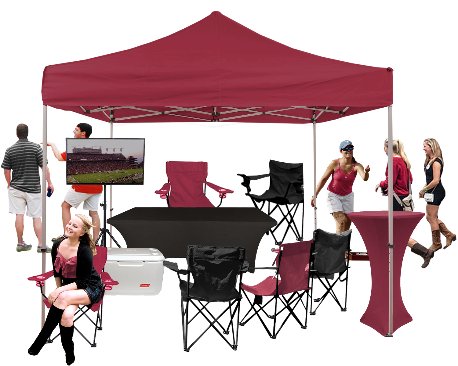 Premium TV Package  sc 1 st  Tailgate Group & South Carolina Tailgating Services At Gamecock Park