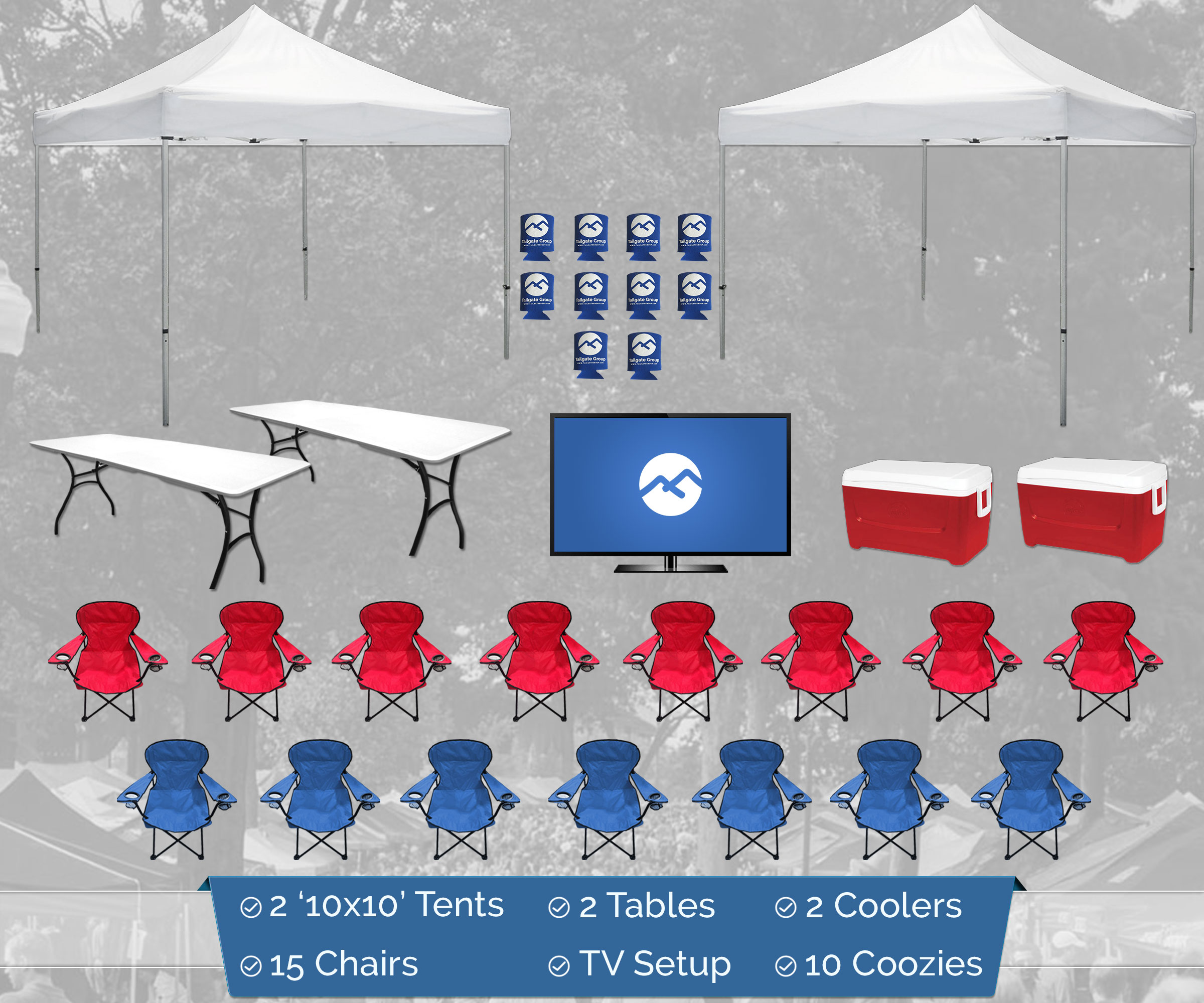 Grove Tailgating Prices