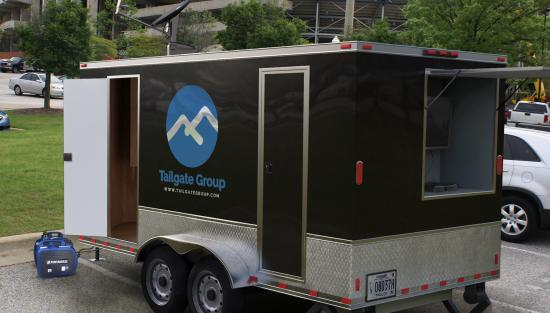 Clemson, SC Tailgating Trailer Rentals