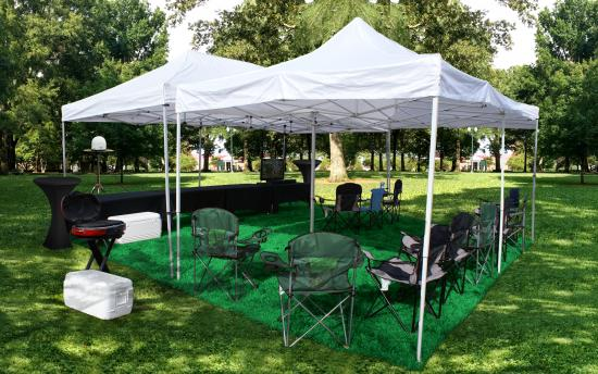 tailgate-group-20x20-tent-tv-setup & Clemson SC Tailgating Trailer Rentals | Tailgate Group