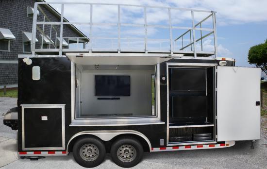 Jacksonville, Florida Tailgating Trailer Rentals
